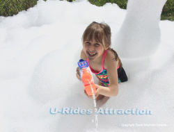 Party Foam Machine Cannon Perfect for Indoor Outdoor Events Party Show