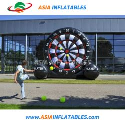Commercial Use Inflatable Velcro Football Soccer Dart for Sports Game