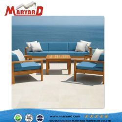High Quality Teak Wood Sofa Sets New Outdoor Patio Furniture With Compeive Price