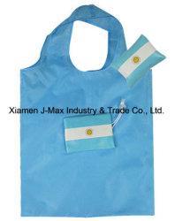 Foldable Flag Shopping Bag, Flag, Reusable, Lightweight, Promotion, Sports Events