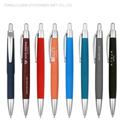Promotional Soft Rubber Finish Sheraton Hotel Pen with Custom Logo