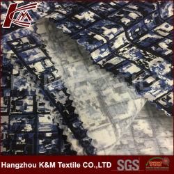 Heavy Elastic Customized Printed Silk Cotton Satin Fabric for Garment