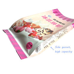Aluminum Foil Milk Powder Bag Ice Cream Custom Packaging Printing Laminated Food Bag Side Gusset Pouch