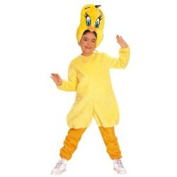 Child Tweety Costume Carnival Halloween Clown Suit Party Kid Costume