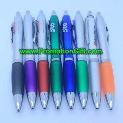 Custom Promotional Plastic Touch Screen Highlighter Ballpoint Ball Point Logo Pen