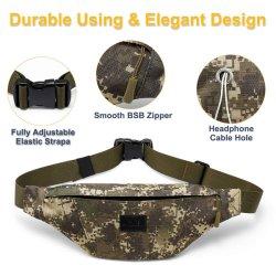 Waist Bag Pack Running Belt, Water Resistant Sport Fanny Pack with Adjustable Strap