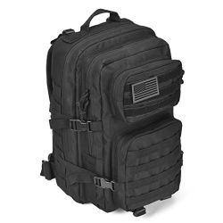 Large Outdoor Sports Travelling Hiking Camping Army 3 Day Assault Pack Rucksacks Military Bag