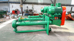 Drilling Fluids Vertical Submersible Slurry Pump 20m³ /H Capacity