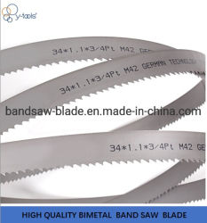 27*0.9mm M42 Bimetal Bandsaw Blades for Cutting Carbon Steel Alloy Steel Good Performance Best Price