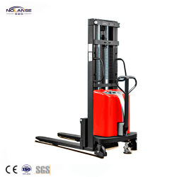 China Supplier High Quality Flexible Turning Semi Electric Forklift Stacker
