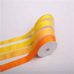 25 mm OEM/ODM Factory Printing Satin Ribbon Xmas Decoration Gliter for Luxury/Jewellry/Dog Sports/Clothes Apparel