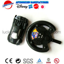 OEM Factory Custom Cheap Steering Wheel Car Launcher Plastic Kids Toy for Promotion Gift