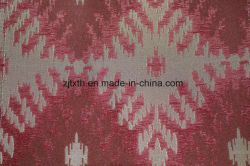 Beige Geometric Jacqurd Luxury Fabric for Chair (fth31960)