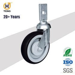 High Peformance TPR/PU Caster for Supermarket Trolley