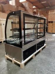 ETL Approved 6 Feet Cake Showcase/Cake Display Cabinet/Cake Display Case