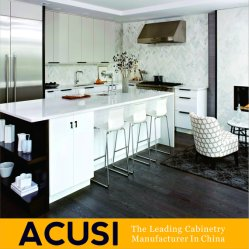 Factory Wholesale Shaker Style Solid Wood Kitchen Furniture (ACS2-W02)