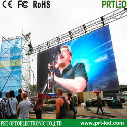 Indoor Outdoor Advertising LED Screen, Full Color Video Wall, Rental LED Display (P3.91, P4.81, P5.95. P6.25 Panel)