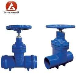 Stem Extension Italy ANSI Class 300 Ht200 Soft Seal Slurry Knife Lever Knife Gate Valve Price List Picture