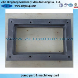 Stainless/Carbon Steel Machinery Part Window Plate with CNC Machining