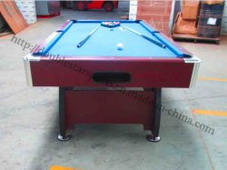 Hot Saling Solid Wood Snooker Pool Table Slate Wholesale