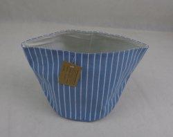 Light Blue Small Laundry Basket
