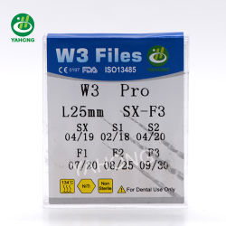 W3 PRO Flexible Memory Protaper Users Niti Endodontic Dental Files Rotary Files