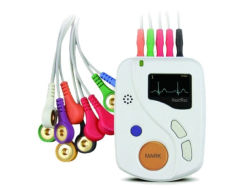 Meditech Ce Approved ECG Holter 12 Canali Heartrec Echo