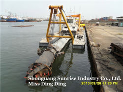 Sand Dredger with 4000m3/H