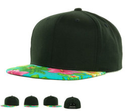Colorfull Stripes Bulls Embroidery Adjustable Snpback Cap