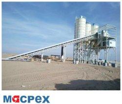 Siemens PLC 90cbm Concrete Batching Plant for Ready Mix Industry
