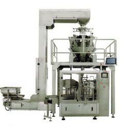 Pre-Made Bags Pouch Filling and Sealing Machine Line for Sweets