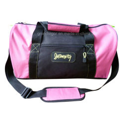 Polyester Sport Duffel Bag in Neon Pink Flare Color