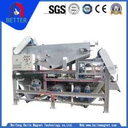 Dcs Technology Belt /Mine/Vacuum Filter for Slurry Materials Dewatering
