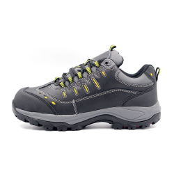 Outdoor Hiking Safety Shoes Sports Style Suede Leather