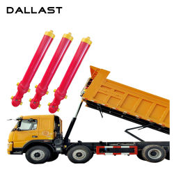 3 Stage Single Acting Piston Sleeve Hydraulic Cylinder for Dump Truck
