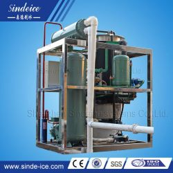 Wholesale Tube Ice Machine with Ice Bin and PLC System
