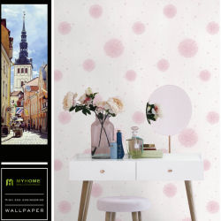 Building Material PVC Vinyl Waterproof Home Decor Wallpaper 3D With Wholesale Price