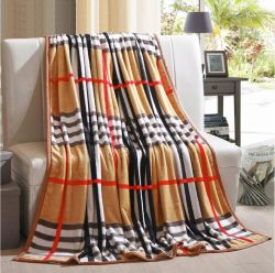 Wholesale 100% Polyester Supe Soft Coral Flannel Fleece Blanket