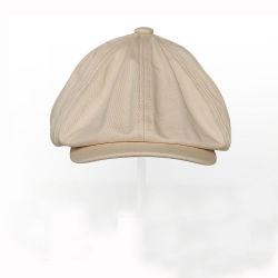 e222882bb807d Custom Cotton Wash 8 Panel Beret Newsboy Cap