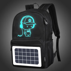 Waterproof Outdoor Travelling Camping Solar Bag with Solar Panel Charger