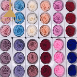 Stunning 6-7cm Real Touch Flowers for Wedding Home Decor (Not Silk Flowers)