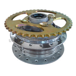 CG125 Front Hub with Sprocket Complete