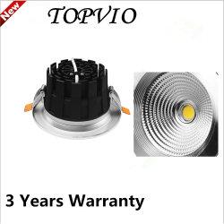 Die-Cast Aluminum 10W COB Downlight LED Spot Lamp