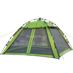 210*210*135cm Outdoor Auto Open Camping Tent, Cheap Camping Gear