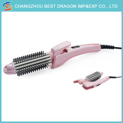 Private Label Beauty Salon Equipment 2 in 1 Flat Iron Titanium Hair Straightener with Comb