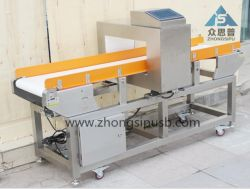 High Sensitivity Metal Detector for Inside Aluminum Film Packages Snacks, Food Bag Pouches Automatical