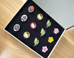 Customized Golf Gift Set with Mini Golf Accessory /Marker with Gift Box for Golf Lover