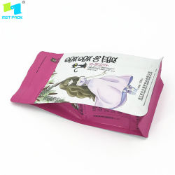 Flat Bottom Pouch Nuts Packaging Bag with Zipper