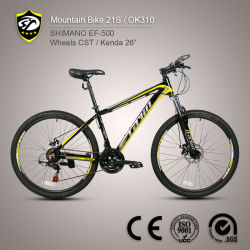 Bicycle Factory Shimano Tourney 21-Speed Aluminum Alloy Mountain Bike (European Quality Level)
