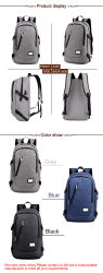 Outdoor Anti-Theft Sports Athletic Backpack Bag